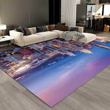 Hot Offer A3d95b 3d City Night View Large Area Rugs Living Room Bedroom Kitchen Carpet Kids Room Decorative Play Game Corridor Non Slip Floor Mat Cicig Co
