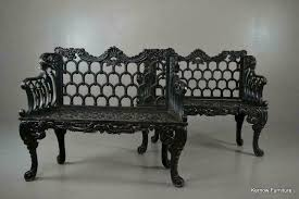 cast iron garden benches bench seat