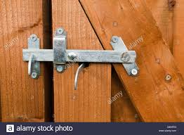 Wood Fence And Gate Hardware High Resolution Stock Photography And Images Alamy