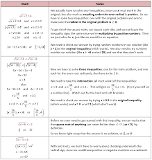 solving radical equations with