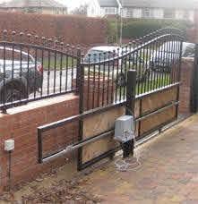 Electric Fence Electric Fence Gate Options Backyard Fences Fence Design Fence Gate