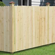 Unbranded 6 Ft X 8 Ft Pressure Treated Pine 4 In Dog Ear Fence Panel 102580 The Home Depot Fence Panels Dog Ear Fence Cedar Wood Fence