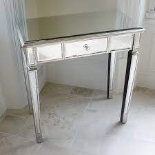 mirrored bedside dressing table