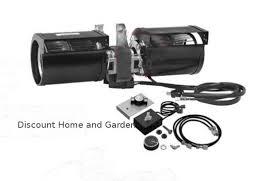 n glo fireplace blower fan kit gfk 160