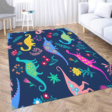 Amazon Com Outdoor Area Rug Shorping 5x7 Area Rug Red Area Farmhouse Rug Dinosaurs Cute Kids Pattern Girls And Boys Colorful Cartoon Kids Rugs Modern Area Rugs For Bedroom Cute Area Rug Kitchen