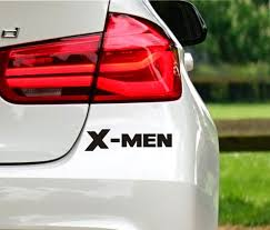 X Men Car Decal Etsy
