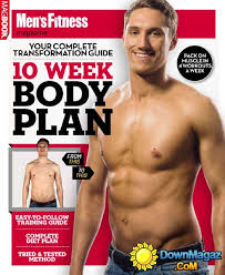 male fitness model workout pdf
