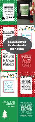 national lampoon s christmas vacation printables