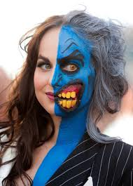 lady two face makeup is the best