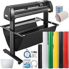 Vinyl Cutter Plotter Cutting 34 Sign Sticker Making Print Software 3 Blades Usb Ebay