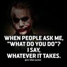 i ve been saying this for years superhero quotes villain quote