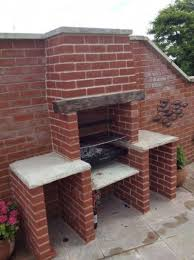 brick built bbq chimneys fireplaces