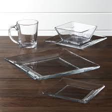 moderno clear glass coffee mug set of