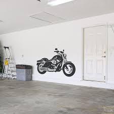 Harley Motorcycle Wall Decal Harley Bike Wall Sticker