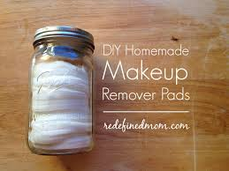 diy homemade makeup remover pads