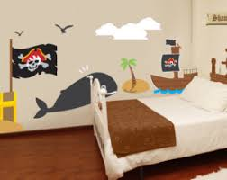 Pirate Wall Decals Etsy