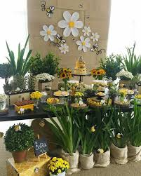 Pin by Wendy Aldana on Abacaxi | Bee birthday party, Bumble bee baby  shower, Bee party