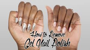 how to remove gel nails at home you