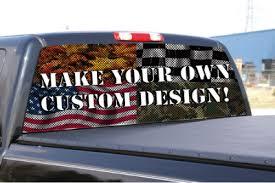 Custom Rear Window Graphic Backgraphics Com