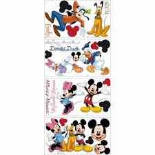 Roommates Mickey And Friends Peel And Stick Wall Decals Rmk1507scs The Home Depot