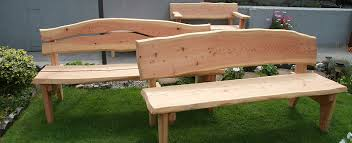 rustic garden furniture hand made