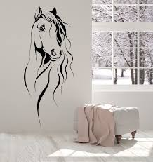 Spirit Horse Wall Decal Silhouette Australia Art Personalized Uk Sayings Seahorse Vamosrayos