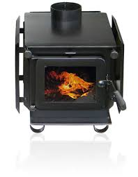 compact burns overnight wood stove