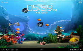 49 free live moving fish wallpaper on