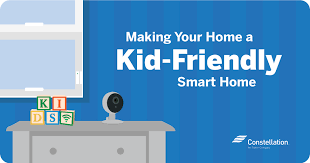 Best Ways To Make Your Home A Kid Friendly Smart Home Constellation
