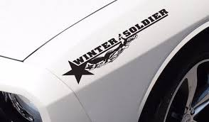 2x Bucky Barnes Soldier Hand Comic Superhero War Car Sticker Decal Ebay Car Stickers Jeep Stickers Superhero Comic