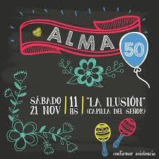 Alma Cumple 50 Fiesta De Cumpleanos Adultos Invitaciones