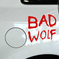 Empireying 3 Sizes 8 Colors Terrorist Modeling Text Doctor Who Bad Wolf Car Sticker Window Bumper Reflective Vinyl Decal Gifts Car Stickers Aliexpress