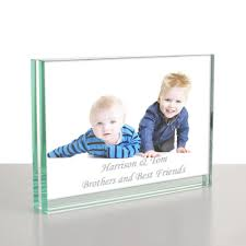 personalised glass photo frame 6x4 7x5