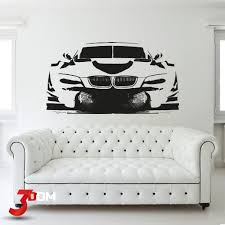 Wall Decal Vehicles Bmw Dtm Silhouette Buy Online