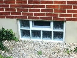 basement windows egress standard sizes