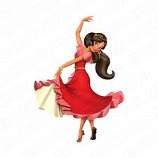 Elena Of Avalor Elena Dancing Character T Shirt Iron On Transfer Decal Your One Stop Iron On Transfer Decal Super Shop Eironons Com