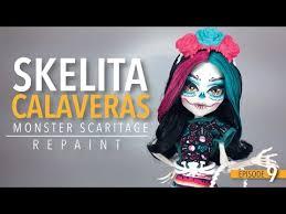 skelita calaveras halloween makeup