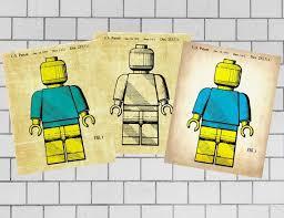 Lego Toys Lego Poster Lego Kids Room Lego Patent Posters Etsy Lego Kids Room Lego Patent Lego Poster