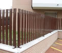 Garden Fence Design Nettuno Libra Industriale Louvered Galvanized Steel Painted Steel