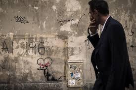 banksy confirms paris street art blitz