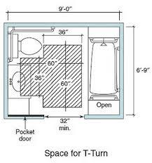 handicap accessible bathroom dimensions