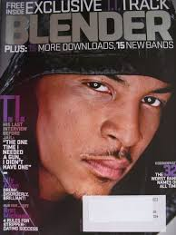 T.I. MARCH 2009 Blender LILY ALLEN BRET MICHAELS ADELE RUSSELL BRAND | eBay