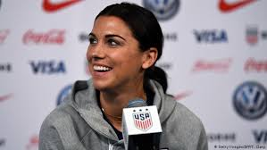 Women′s World Cup: Alex Morgan′s fight for equality reaches new heights |  Sports| German football and major international sports news | DW |  10.06.2019