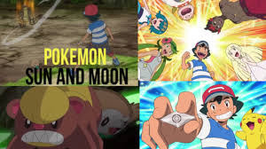 Pokemon Sun and Moon anime review ep Ash's first trial - YouTube