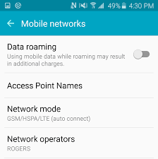 roam like home and roaming support rogers