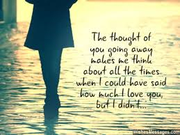 goodbye messages for boyfriend quotes for him com