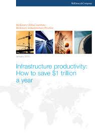 McKinsey - Infrastructure - Jan 2013