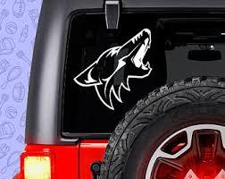 Coyotes Hockey Etsy