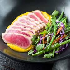 Seared Ahi Tuna with Sesame Green Beans ...