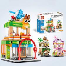 Bộ Đồ Chơi Lego Xếp Hình Thành Phố Thú Vị Cho Bé
